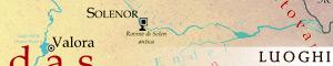 Geografia di Corown e luoghi importanti