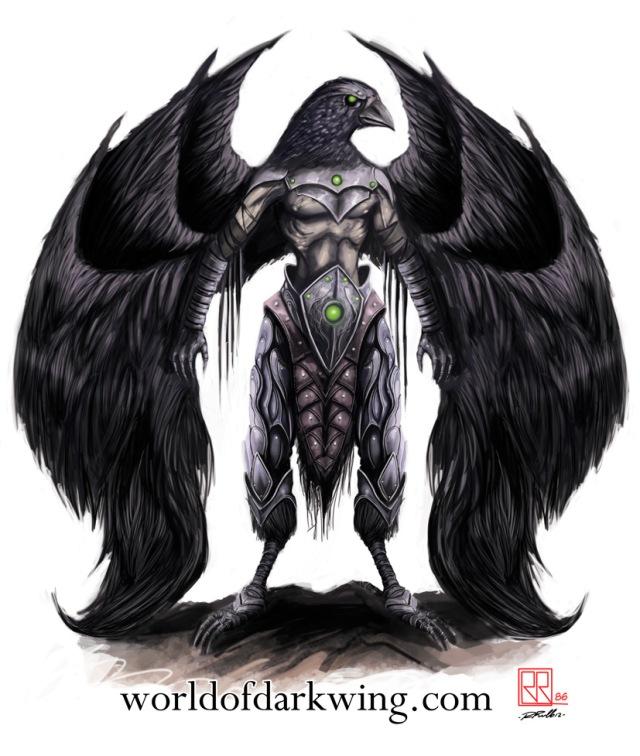 Ravenous, aspetto di Exus