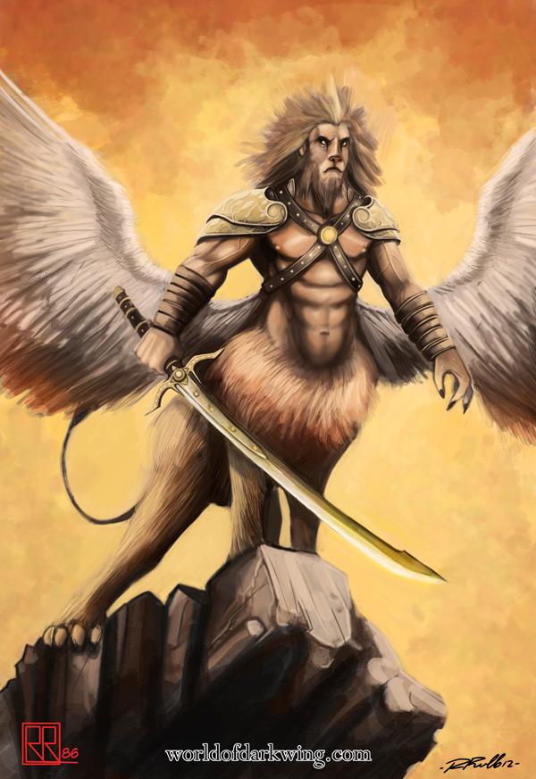 Helios nel suo aspetto di Lethar