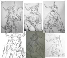 Sindel sketchdump