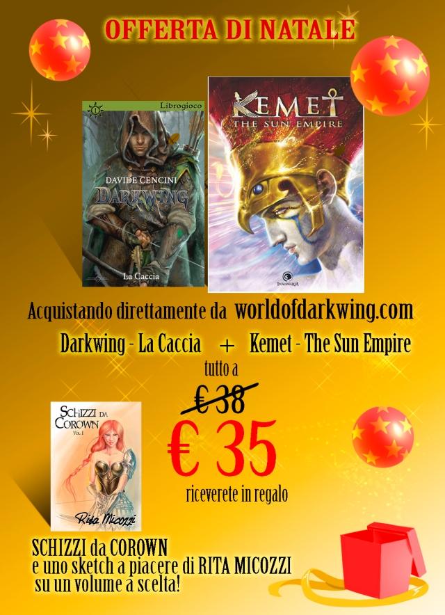 Offerta Natale Darkwing La Caccia + Kemet €35