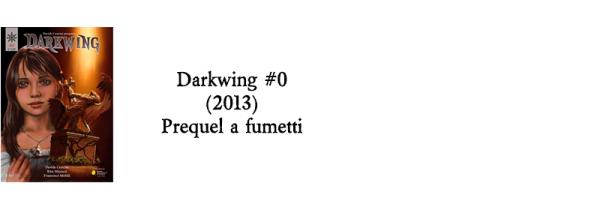 Darkwing #0 (2013) Prequel a fumetti